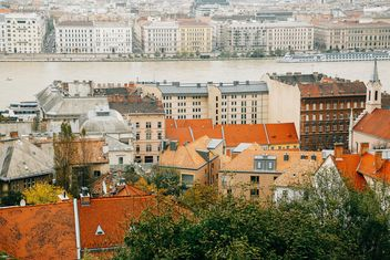 River and architecture of Budapest - бесплатный image #186237