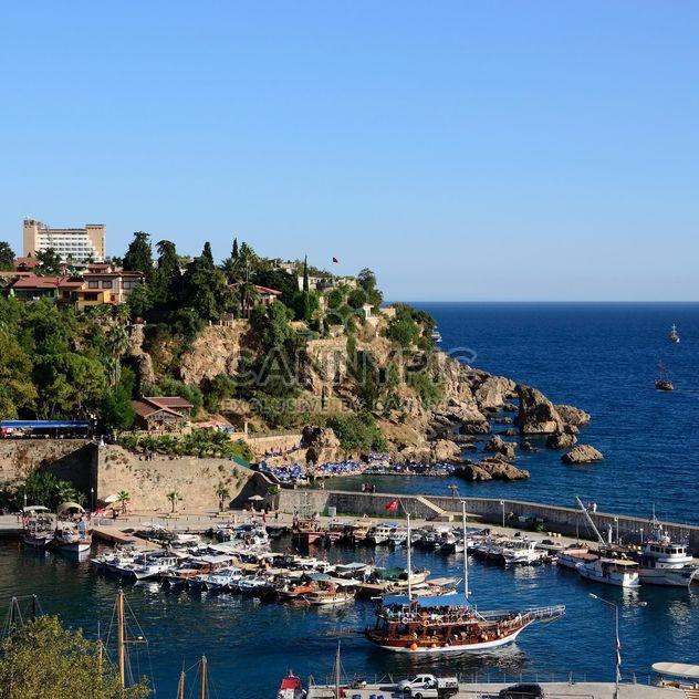Blick auf die Bucht in Antalya - Kostenloses image #186277