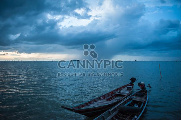 Heavy clouds on the sea - Free image #186457
