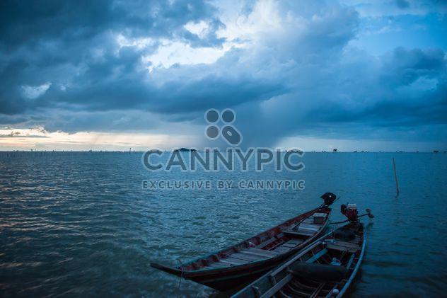Nubarrones sobre el mar - image #186457 gratis