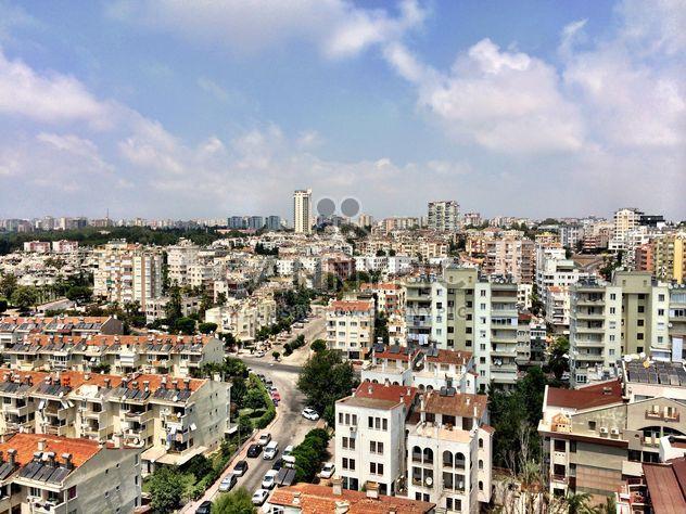 Вид с воздуха на дома в Анталии - бесплатный image #186667