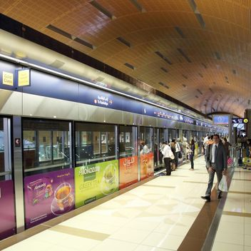 People at metro station, Dubai - Free image #186677