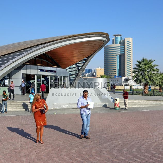 Юнион Станция метро, Дубай - бесплатный image #186697