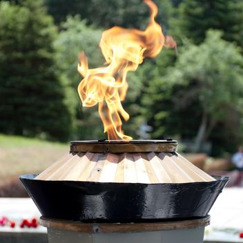 Burning eternal flame - image #186767 gratis