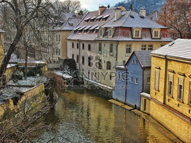 Watermill on river in Prague - Free image #186807