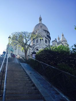 Basilica of the Sacre Coeur in Paris - Kostenloses image #186847