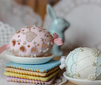 Easter eggs and cookies - Free image #187537