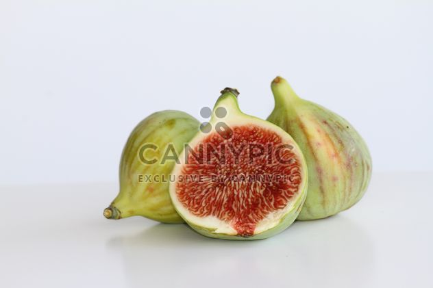Figs on white background - Free image #187847