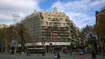 Gaudi's La Pedrera Building in Barcelona - Free image #187857