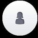 weiblichen Benutzer - Kostenloses icon #188257