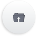 Folder Upload - icon gratuit(e) #188267