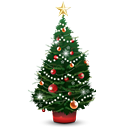 Christmas Tree - icon gratuit #188797