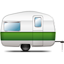 Camping Trailer - icon gratuit #188807