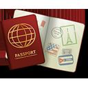 passeport - icon gratuit(e) #189227