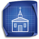 Church - icon #189407 gratis