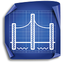 Bridge - icon #189427 gratis