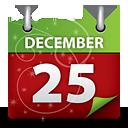 calendario de la Navidad - icon #189697 gratis