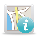 Map Info - icon gratuit(e) #189777