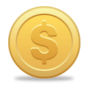 Dollar Coin - icon #189807 gratis