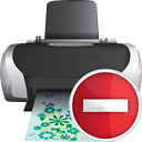 Printer Remove - icon #190357 gratis