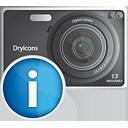 infos de caméra photo - Free icon #190367