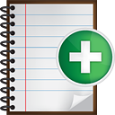 Notes Add - Free icon #190517