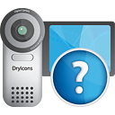 Videokamera-Hilfe - Kostenloses icon #190537