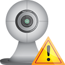 Webcam Warning - icon #190597 gratis