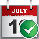 Calendar Accept - icon #190807 gratis