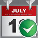 Calendar Accept - Free icon #190807