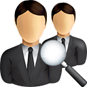 Business Users Search - Kostenloses icon #190857