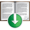 Book Down - icon #191047 gratis