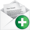 Mail Open Add - icon #191087 gratis