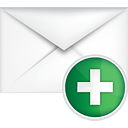 Mail Add - Free icon #191097