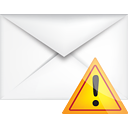 Mail Warning - icon gratuit #191167