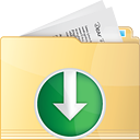 Folder Down - icon gratuit #191227