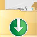 Folder Down - Free icon #191227