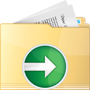 Folder Next - icon gratuit(e) #191307