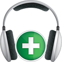 Headphones Add - Free icon #191327