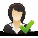 Accept Businesswoman - Free icon #192027