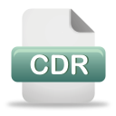 Cdr File - Free icon #192047
