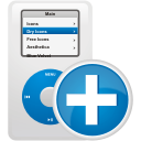 Ipod Add - icon gratuit #192077