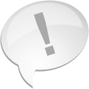 Comment Exclamination - Free icon #192097