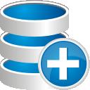 -Datenbank hinzufügen - Free icon #192157