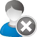 Eliminar usuario - icon #192237 gratis