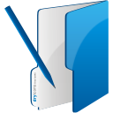 Folder Edit - icon gratuit #192457