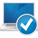 accepter pour ordinateur portable - icon gratuit(e) #192547