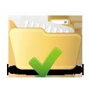 Ouvrez le dossier accepter - icon gratuit(e) #193017