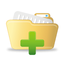Add To Open Folder - icon #193077 gratis