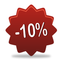 10 Percent Off - Free icon #193087
